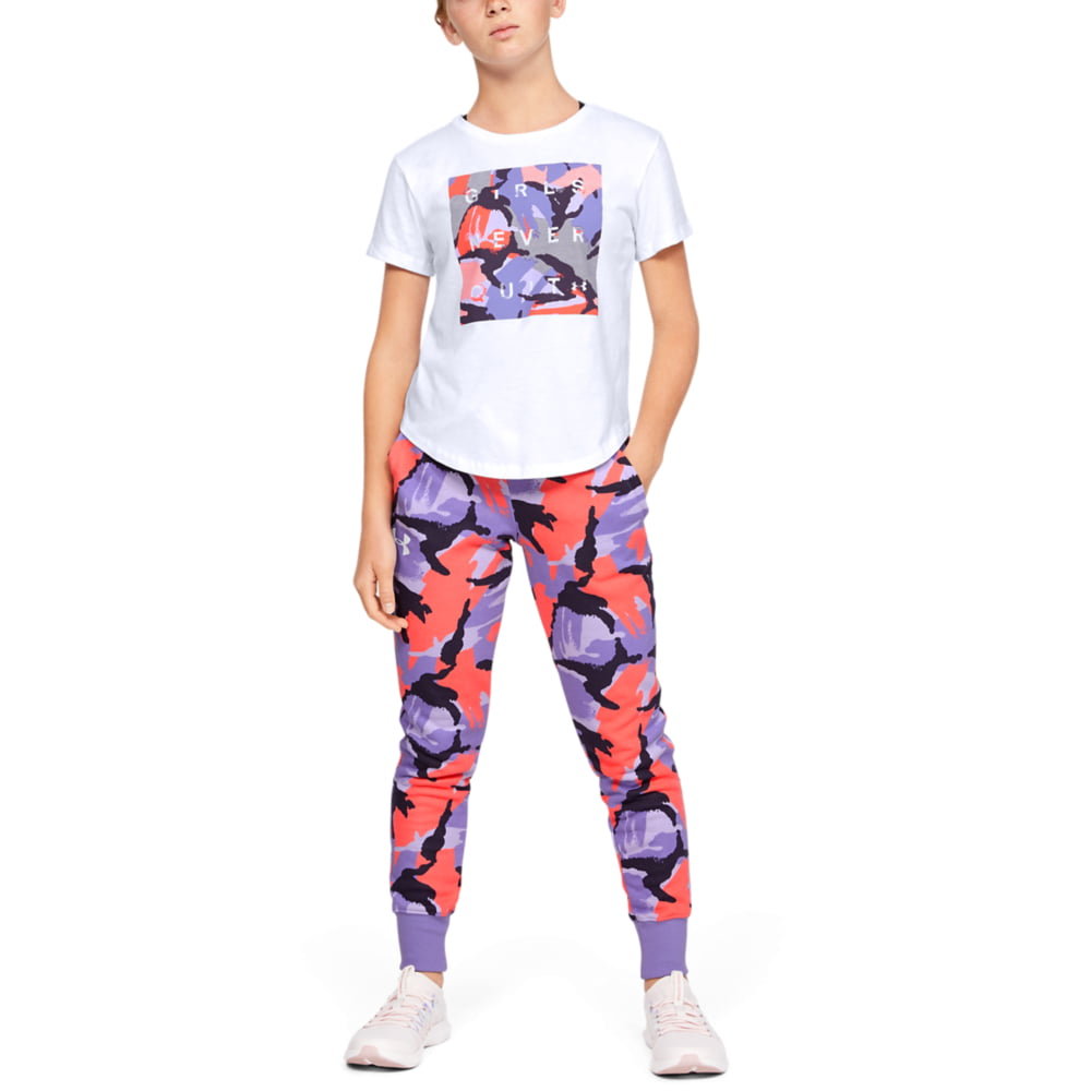 Tricou Copii Under Armour Rival Print Fill