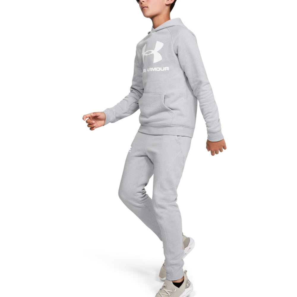 Pantaloni Copii Under Armour Rival Solid Joggers