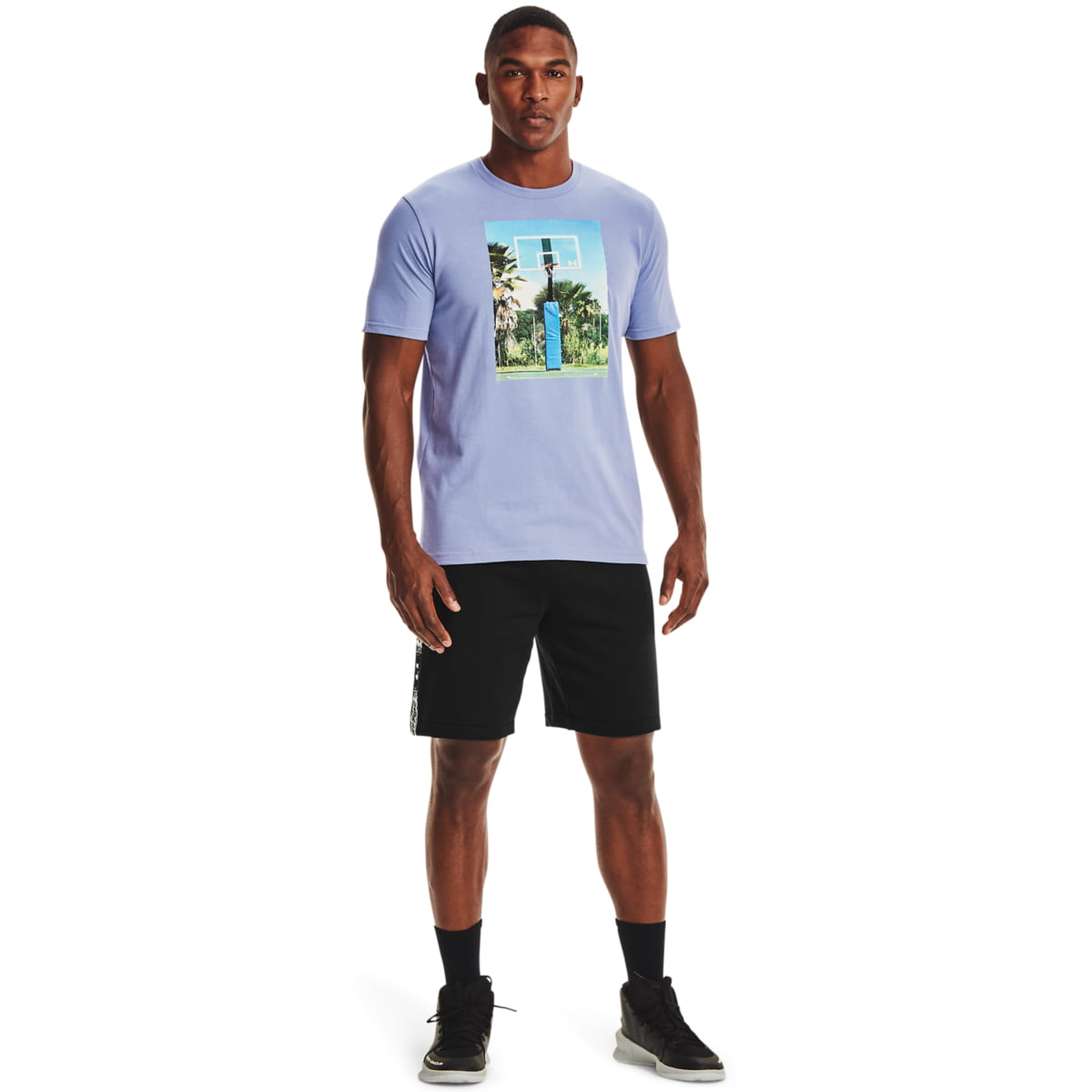 Tricou Under Armour Hoops Summer Daze Tee