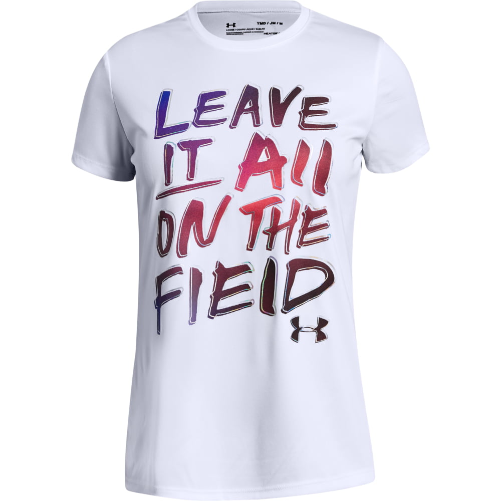 Tricou Copii Under Armour  Leave It On The Field