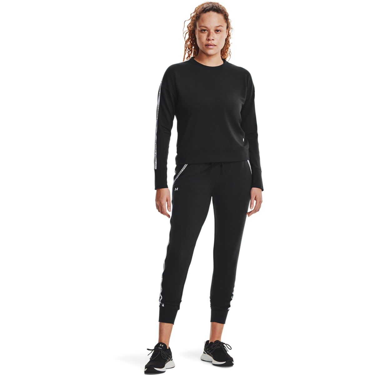 Bluza Under Armour Rival Terry Taped Crewneck