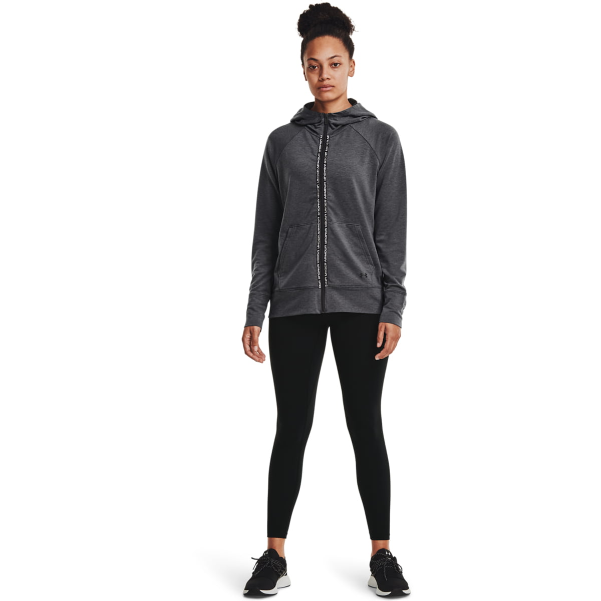 Hanorac Under Armour Rival Terry Taped Full Zip